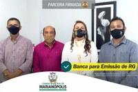 Presidente da Câmara Municipal Erivan do Prata fecha parceria para Banca na emissão de RG