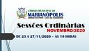 Sessões de Novembro/2020